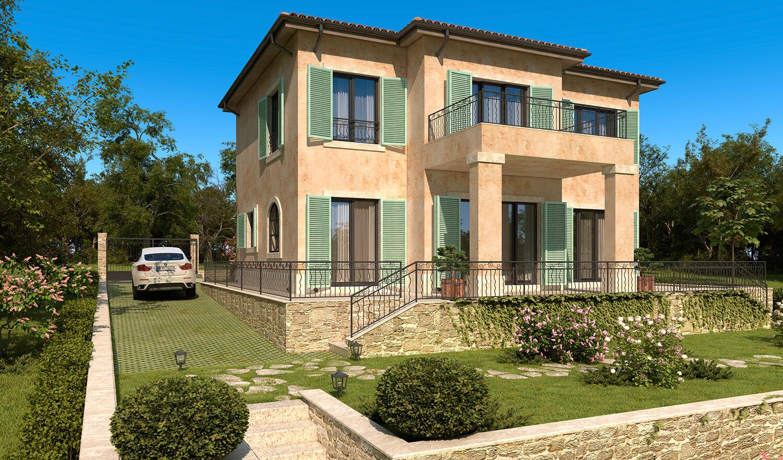 архитектурно студио Jas Варна - къща в стил Прованс