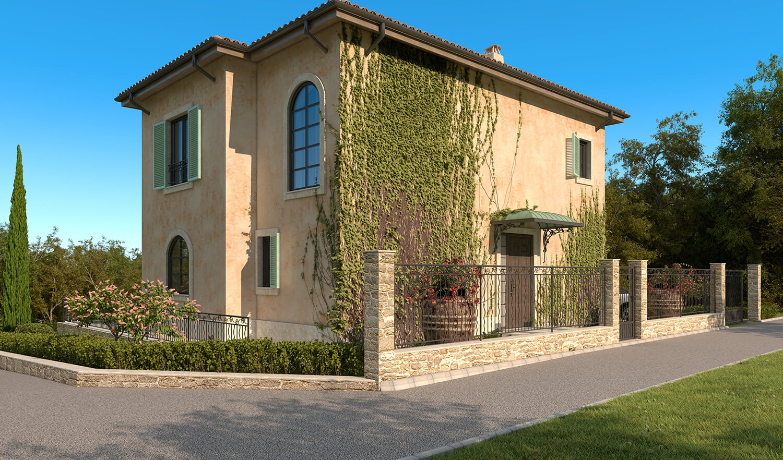 Къща в стил Прованс - архитектурно студио Jas Варна