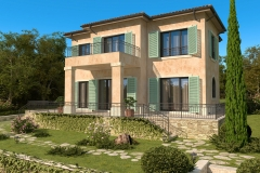 къща в стил Прованс архитектурно студио Jas Варна