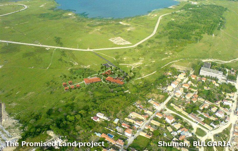 Обещаната земя – идеен проект, м.Дивдядово, гр.Шумен - Проект на сграда Jas Studio