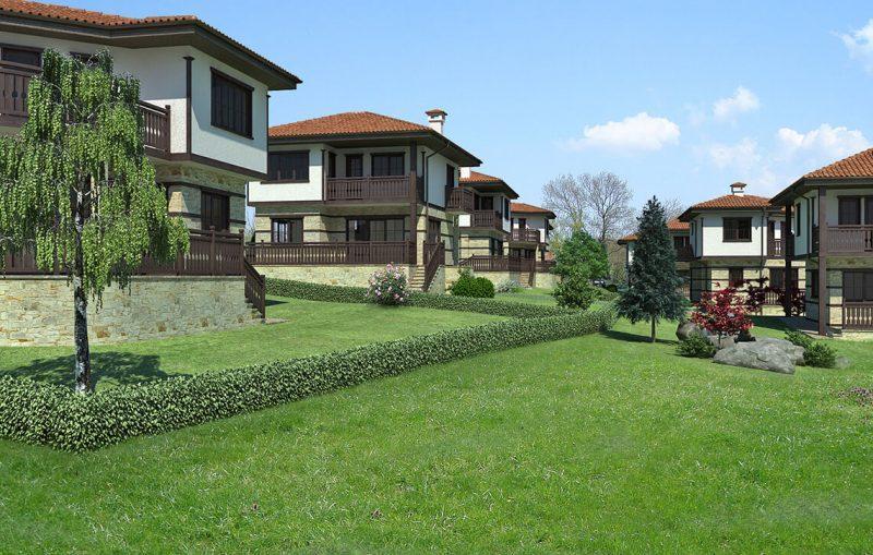 Вилно селище с.Горица - Архитектурно студио Jas Studio