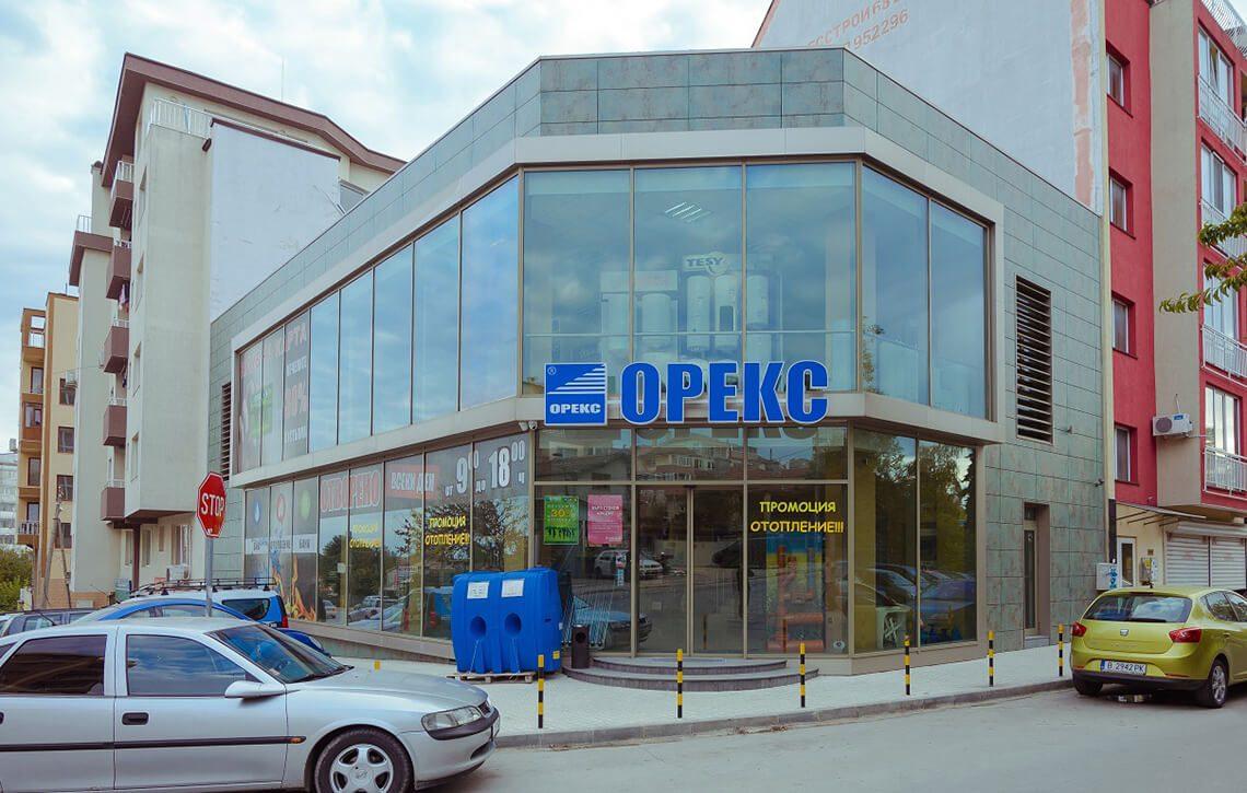 """Шоурум на фирма """"Орекс"""", гр.Варна - Проект на сграда Jas Studio"""