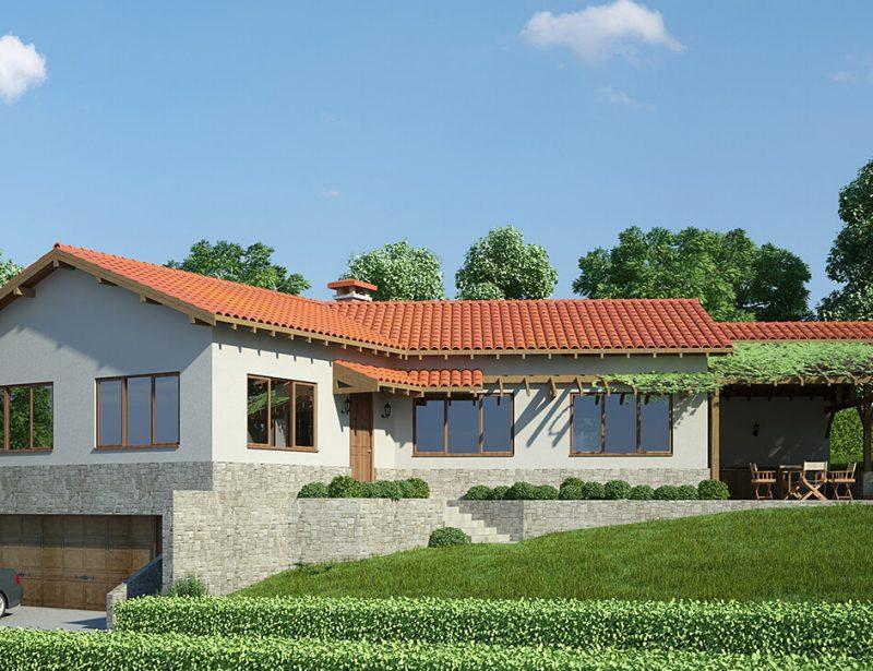 Еднофамилна къща в с. Приселци, общ. Аврен - Архитектурно студио Jas Studio