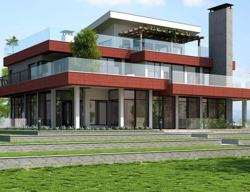 Черно и червено - Интериорен дизайн Jas Studio