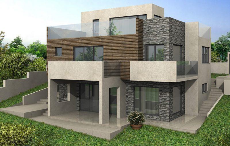 "Еднофамилна къща в СО""Боровец - Юг"" - Проект на сграда Jas Studio"