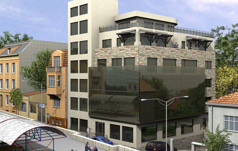 Административна сграда с клиника, гр. Шумен - Обзавеждане на апартаменти Jas Studio