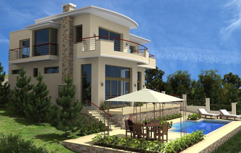Къща в.з.Изгрев , гр.Балчик, общ.Добрич - Интериорен дизайн Jas Studio