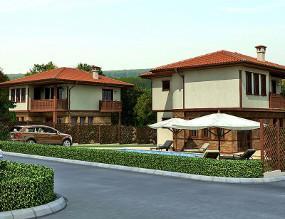 Комплекс от еднофамилни жилищни сгради, с.Юнец, общ.Долни Чифлик - Архитектурно студио Jas Studio