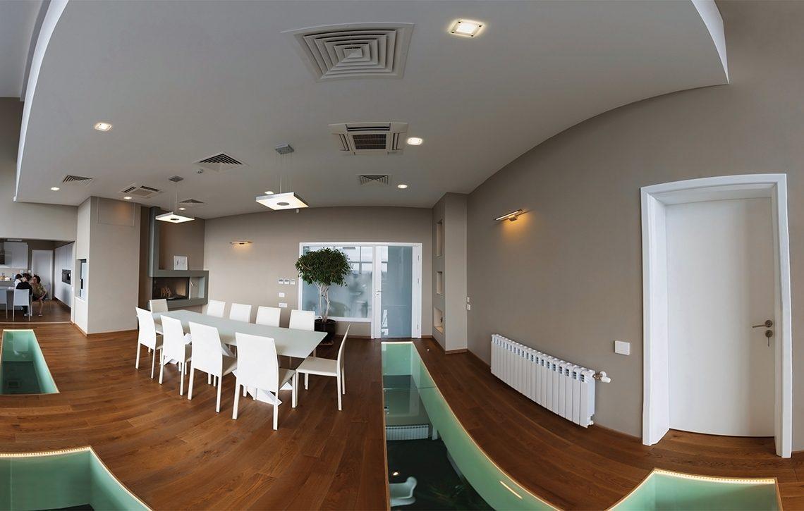 """Интериор на частна къща в м.""""Прибой"""" - Проект на къща Jas Studio"""