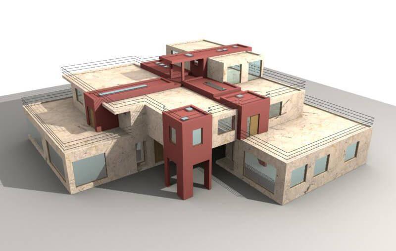 Двуфамилна сграда гр.Поморие - Архитект Варна Jas Studio