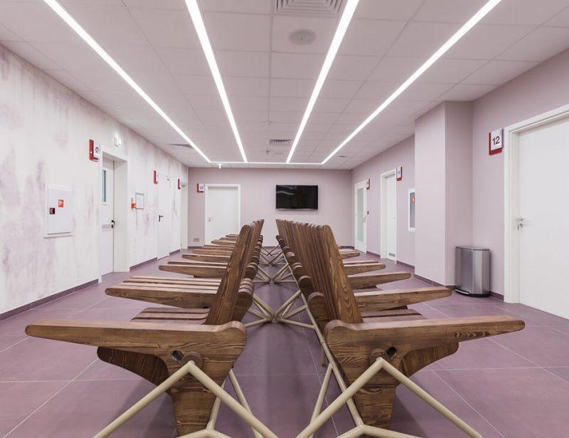 "Интериор на Очна Болница ""Св.Петка"" - Обзавеждане на апартаменти Jas Studio"