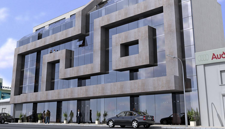 Архитектура от бъдещето - Проект на сграда Jas Studio