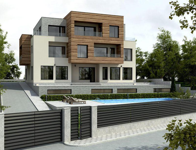 Многофамилна сграда в СО Ален Мак, гр.Варна - Архитектурно студио Jas Studio
